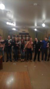 День рождения резидента нашего центра, Павла из г. Пермь.