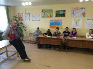Сегодня в РНЦ «Успех-Нации», д. Песьянка, Частинский район, Пермский Край, в гости приехал Александр из города Тамбов.