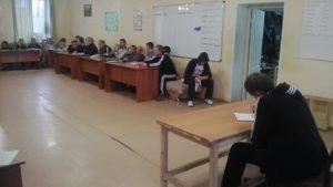 Рабочее собрание с резидентами в РНЦ «Успех-Нации», д. Песьянка, Частинский район, Пермский Край.