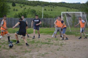 Традиционный матч по футболу